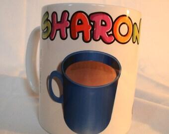 Personalised Tea or Coffee Mug