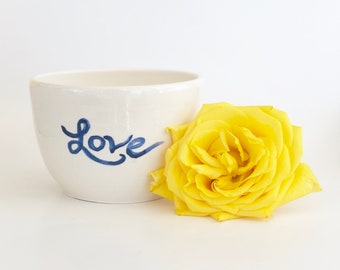 Handmade LOVE Bowl