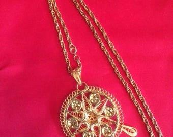Gold Color Necklace