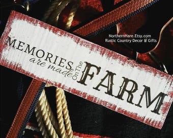 Gift for Farmer, Farmers Wife Gift, Farmer Gift, Farm Family Sign, Farming Decor, Farming Sign, Gift for Farmers Wife, Best Gift for Farmers