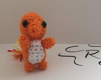 Mini Crochet Charmander