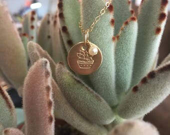 Sweet Succulent Necklace