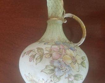 Art Nouveau Amphora Pitcher