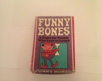Vintage Funny Bones 1968 Parker Brothers Games,Complete