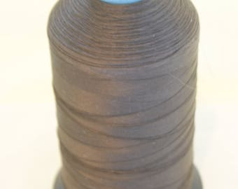 5000m Brown 100% Polyamide thread Nm60