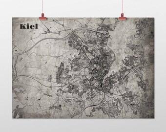 Kiel - A4 / A3 - print - OldSchool