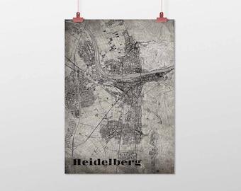 Heidelberg - A4 / A3 - print - OldSchool