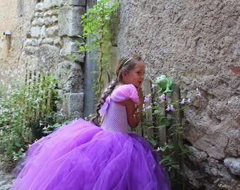 Robe de princesse, inspirée Raiponce