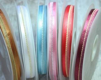 Satin And Organza Ribbon, Wedding Decor, Gift Wrap, Christmas Ribbon, Satin Ribbon, Organza Ribbon,