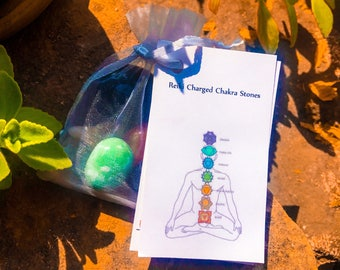 Reiki Charged Chakra Stones
