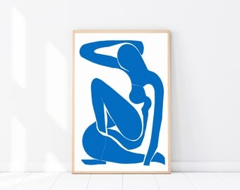 Matisse PRINT, Modern Minimalist, Female Sketch, Drawing, Nude Sketch, Picasso Poster, Picasso Wall Art, Abstract Art, Figurative Drawing