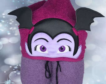 Vampirina Ballerina girl Hooded Towel