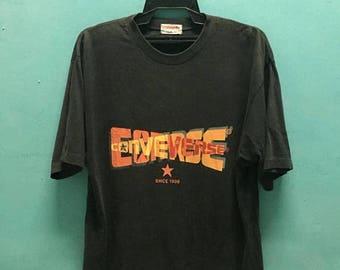 SALE 25% Vintage Converse Big Logo 90s Tshirt Hip Hop Size M