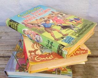 3 x Enid Blyton hardcover books