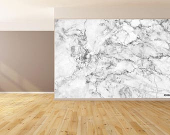 Wall Art Marble Instense 1 Deep Pattern Accent Wallpaper HUGE Peel and Stick
