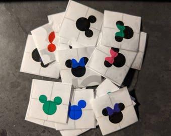 Mickey or Minnie Magic Band Decal