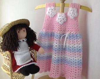 crocheted toddler dress