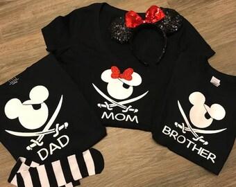 Disney Cruise Shirts | Disney Family Shirts | Disney Shirts | Family Matching Shirts | Disney Vacation Shirts | Disney Pirate Shirts |