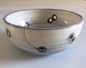 Bowl to wool, wire Bowl, hook Bowl, Bowl ceramique.cadeau Bowl.