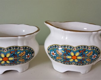 Price Kensington Creamer And Sugar Bowl Set