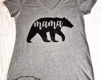 Mama Bear Shirt, Mama Bear, New Mom, Mama