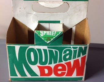 Mountain Dew Cardboard Carrier