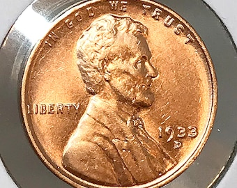 1933 D Lincoln Wheat Cents - Choice BU / MS / Unc