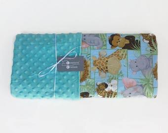 Jungle Babies Baby Blanket - Large Print