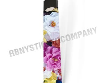 Skin Decal Wrap for JUUL Colorful Flowers