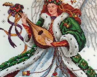 Vintage The Gold Collection Angel of Elegance Counted Cross Stitch kit