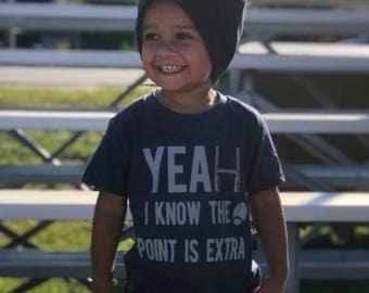Football shirt, extra point shirt, funny football shirt, toddler boy, toddler girl, toddler shirt, baby shirt