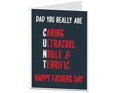 Joke Father's Day Funny Father's Day Acronym. Father's Day Card Funny. Rude Father's Day Card. Offensive Father's Day Card Joke.