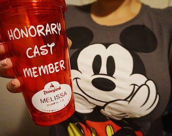 Customizable Honorary Cast Member Cup