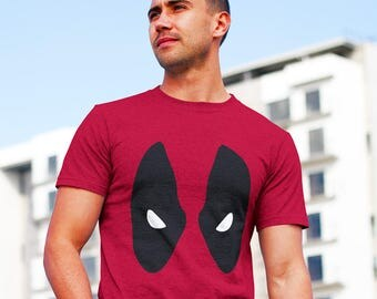 Marvel Comics Deadpool Mask T-Shirt