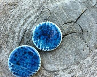Ultramarine earrings
