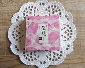 Stickers 40 piece set in assorted designs flower pattern number (11)