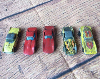 Set of Hot Wheel Cars From the 1970s