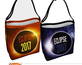 Eclipse Tote bag, Moon Tote bag, Solar Eclipse bag, Eclipse 2017 store
