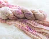 Grown Up Money Hand Dyed Fingering Weight Yarn for Knitting and Crochet