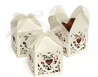 Square Decorative Favor Boxes