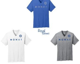 Glitter Monat  V-Neck T-Shirt, Monat  Shirt, Monat V-Neck, Monat, Monat Clothes