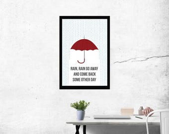 Digital Download, Umbrella, Art, Decoration
