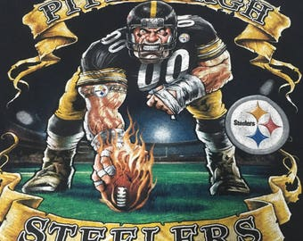 Vintage, Pittsburgh Steelers T shirt (XL)