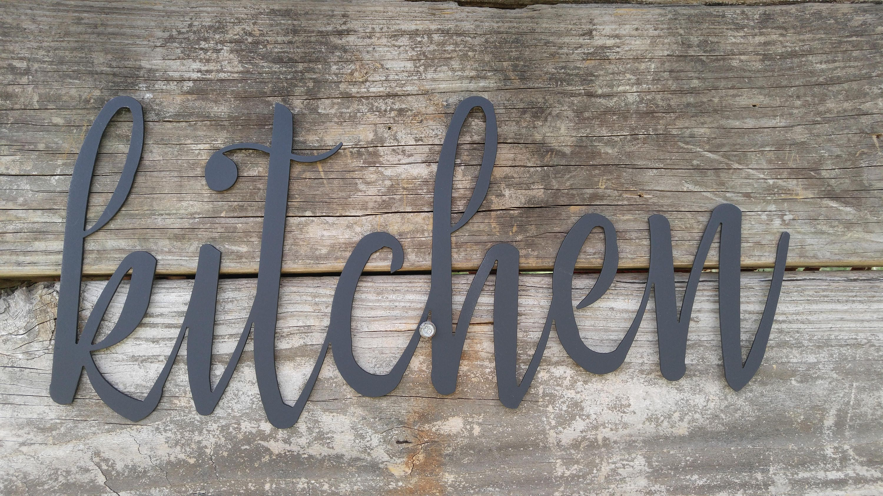 Kitchen Decor Signs Metal Kitchen Signs Farmhouse Wall Decor Metal Words Rustic