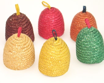 Vintage 60s egg cosy covers