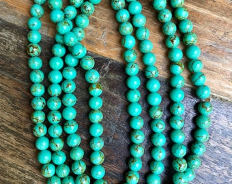 Green Marble Beaded Wrap