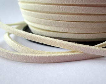 5 m cord - white - 3 mm