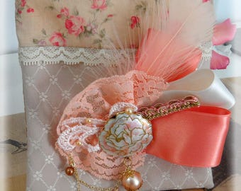 His SOAP and Shabby Chic clutch