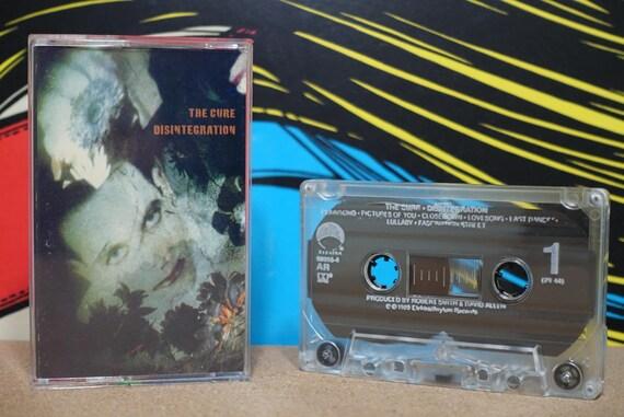 Disintegration by The Cure Vintage Cassette Tape
