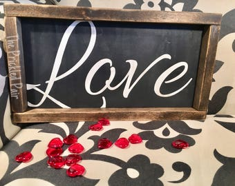 Love - Handpainted-Rustic-Farmhouse Sign